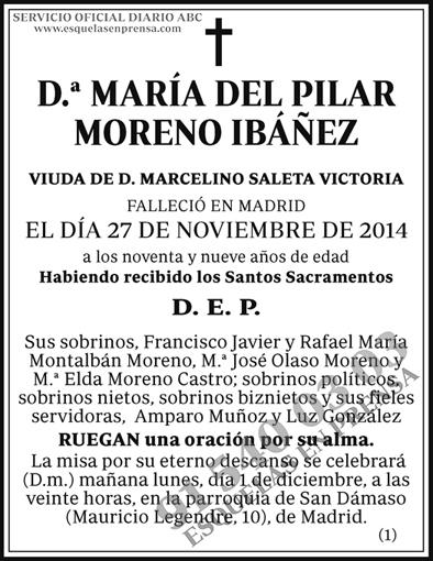 María del Pilar Moreno Ibáñez